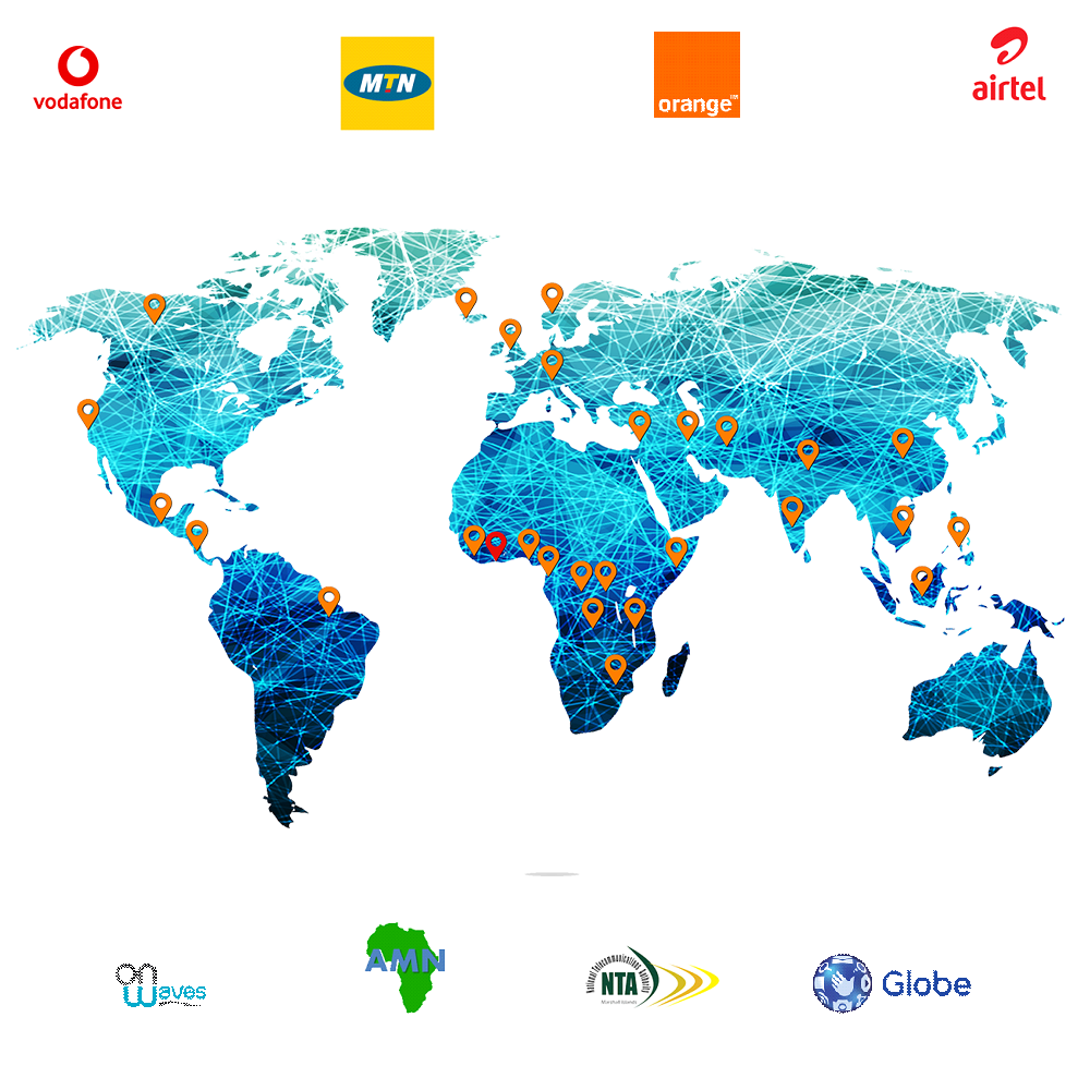 Map | Rural Wireless solutions | NuRAN Wireless - Mobile and Wireless Network Solutions